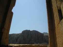 Вид с территории комплекса на Вайоц Дзор