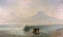 Айвазовский. Сошествие Ноя с Арарата