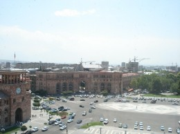 Вид на часть площади Республики