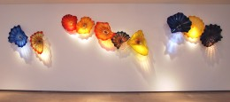 Dale Chihuly, Persians, Installation in Gallery One, Photo By Robert Ghevondyan