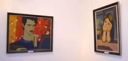 На выставке работ Никогосяна