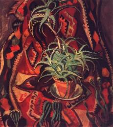 Лавиния Бажбеук-Меликян. Натюрморт с кактусами. 1964