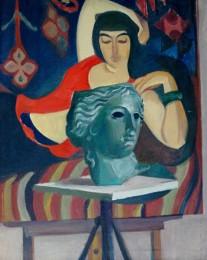 Лавиния Бажбеук-Меликян. Портрет Зулейки. 1974