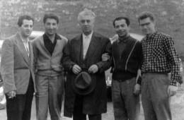 Эдгар Оганесян (крайний слева), Арам Хачатурян и другие