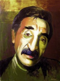 A.Sadoyan. Portrait of Mher Mkrtchyan. 2002