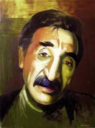 A.Sadoyan. Portrait of Mher Mkrtchyan. 2002