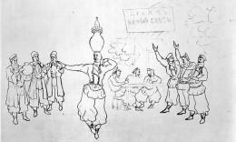 Аршил Горки. Танец Шушанбар