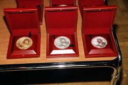 Медали, ожидающие лауреатов конкурса 2010 года