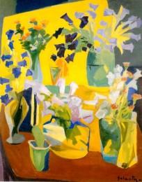 Арутюн Галенц. Цветы. 1962