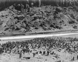 Кладбище в Джуге в 1915 году