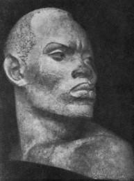 Гюрджян. Голова негра. 1948